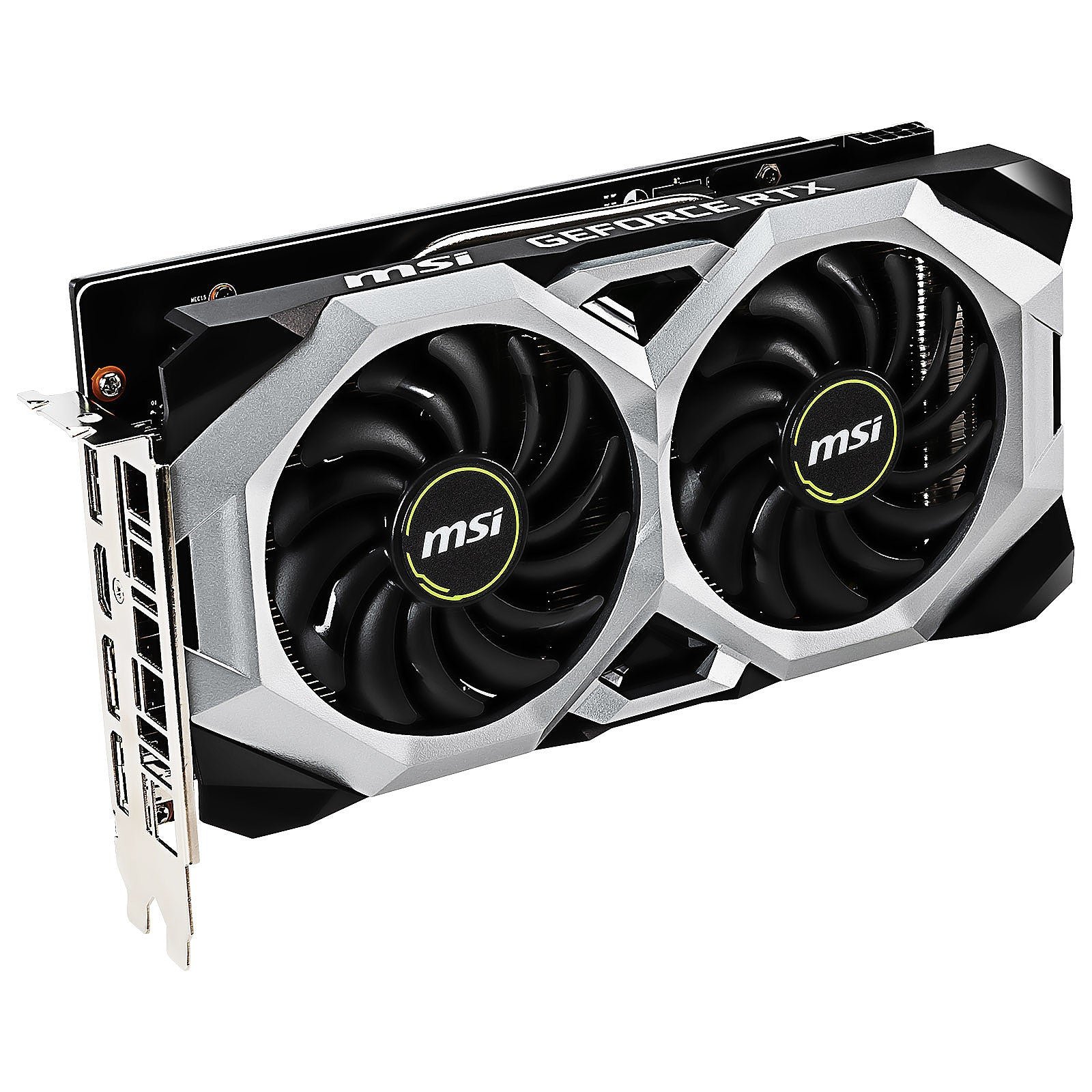 MSI GeForce RTX 2060 SUPER VENTUS GP OC 8 Go GDDR6 - HDMI/Tri DisplayPort - PCI Express (NVIDIA GeForce RTX 2060 SUPER)