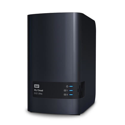 WD My Cloud EX2 Ultra 4 To (2 x 2 To) - Serveur de stockage multimédia 2 baies