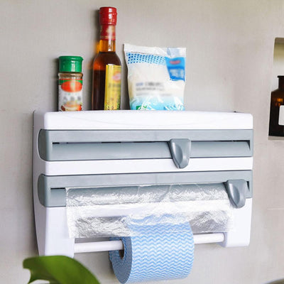 4in1 Kitchen Roll, Film and Paper Holders