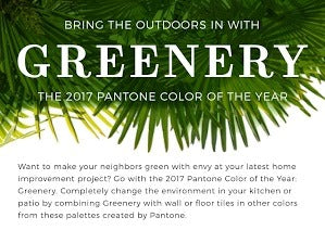 Bring the Outdoors In with Greenery!