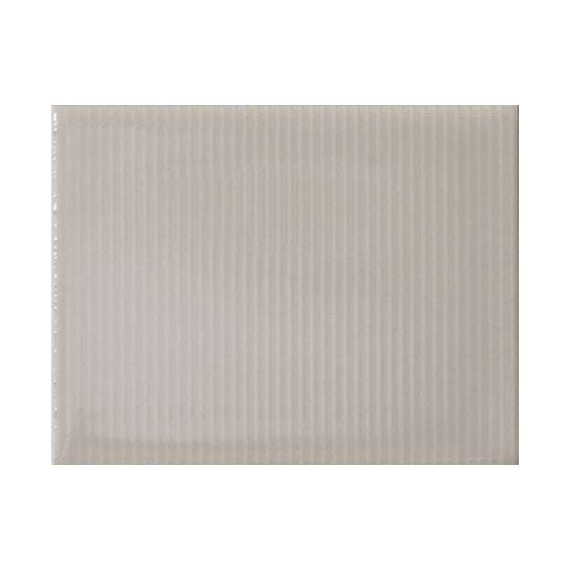 "Oyster Bay | Pinstripe | The Essentials | Textured Subway Tile 4""x5"""