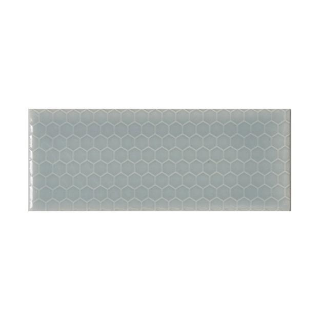 "Shore Thing | Honeycomb | The Essentials | Textured Subway Tile 2""x5"""