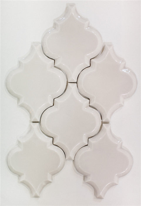 Beveled Arabesque Tile | Oyster Bay