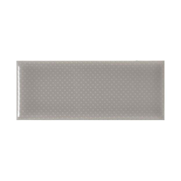 "Vento Grey | PinPoint | The Essentials | Textured Subway Tile 2""x5"""