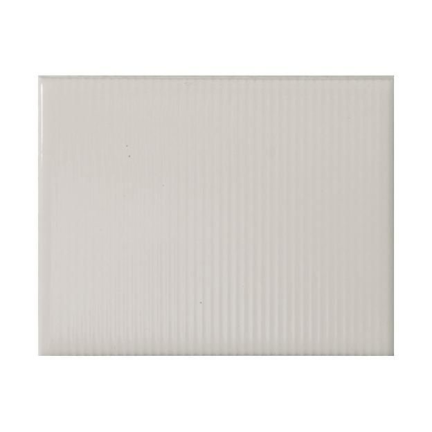 "Ivory Coast | Pinstripe | The Essentials | Textured Subway Tile 4""x5"""