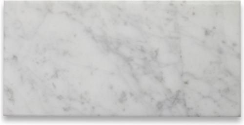 Oriental White Marble | Brushed 12x24