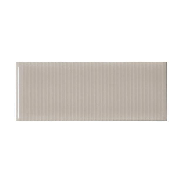 "Oyster Bay | Pinstripe | The Essentials | Textured Subway Tile 2""x5"""