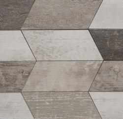 Chevron Chic | White, Mini Chevron - Mission Stone & Tile
