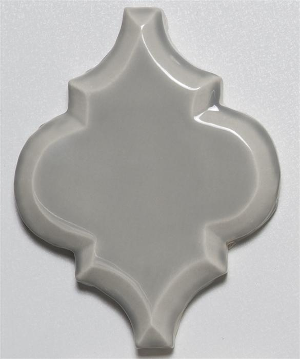 Beveled Arabesque Tile | Music City Mist