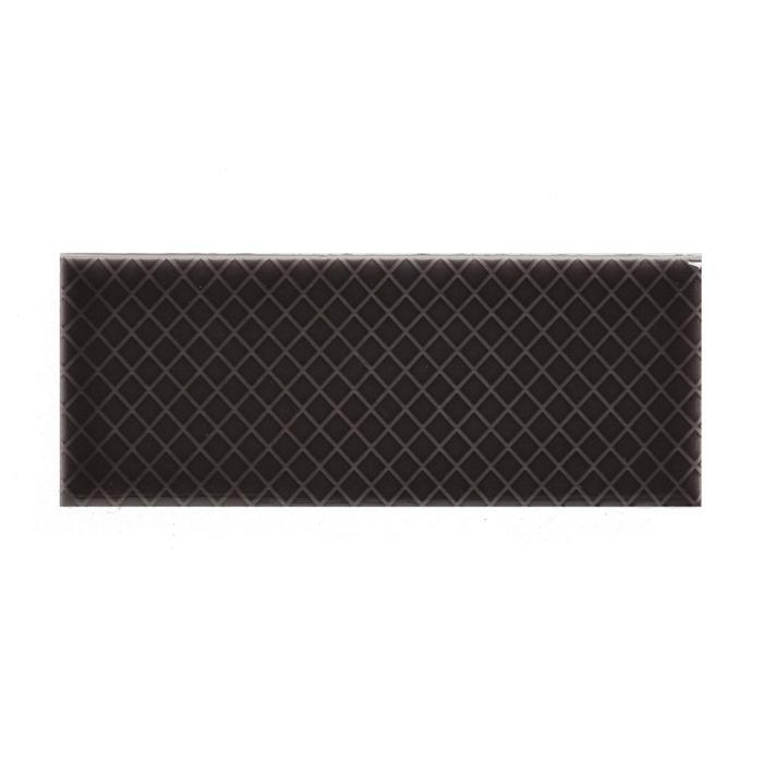 "Swedish Mink | Diamond | The Essentials | Textured Subway Tile 2""x5"""