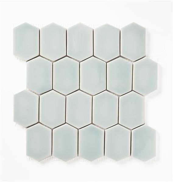Shore Thing | Mod Picket Mosaic | The Essentials | Tile 10x11