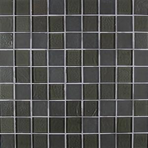 "Ferrum Blend | Glass Mosaic Tile 1""x1"""
