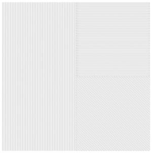 Luce di Ceramica | White | Ceramic Wall Tile | 8��� x 8���