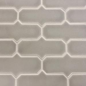 "Vento Gray | MidPoint | The Essentials | 3""x6"" 
