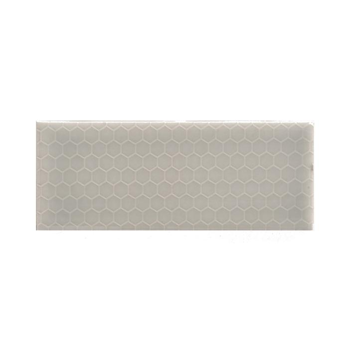 "Music City Mist | Honeycomb | The Essentials | Textured Subway Tile 2""x5"""