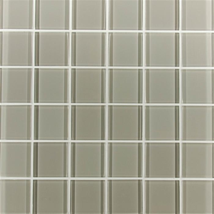 "Oxygen Glacier Glass Tile 2""x2"""