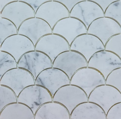 Curve Appeal | Bianco Carrara Large