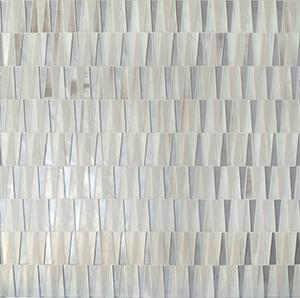 "IMMENSE PARALLELS 1 | Glass Mosaic Tile 11-1/4"" X 12"""