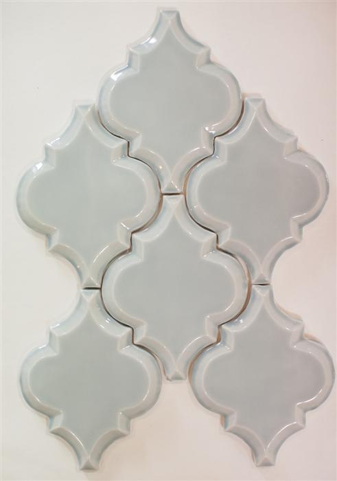 Beveled Arabesque Tile | Shore Thing