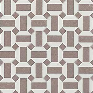 "Geometrics - Studio Decor 04 | Porcelain Tile | 8"" X 8"""