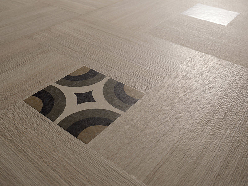 Inside 50 Porcelain Tile | Beige Deco | 20x20 - Mission Stone & Tile