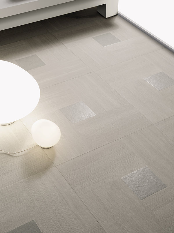 Inside 50 Porcelain Tile | Light Solid | 20x20 - Mission Stone & Tile