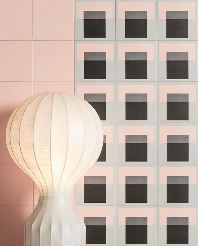 Futura | Rose | Porcelain Field Tile | 6 X 6