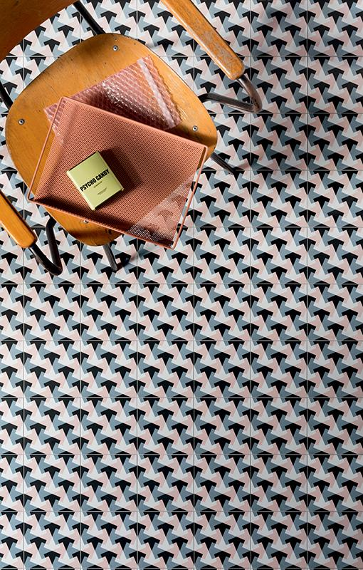 Futura Geometric Porcelain Tile for Walls and Floors / Bird