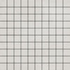 Futura Geometric Porcelain Tile for Walls and Floors / Grid / Black