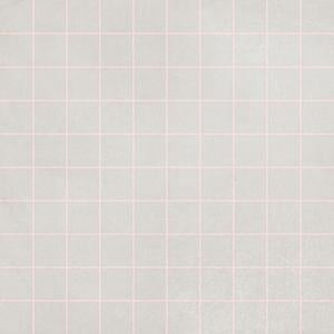 Futura Geometric Porcelain Tile for Walls and Floors / Grid / Rose