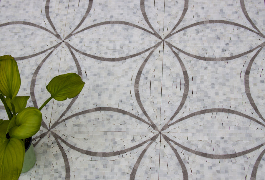 Marble Stone Mosaic for Walls and Floors