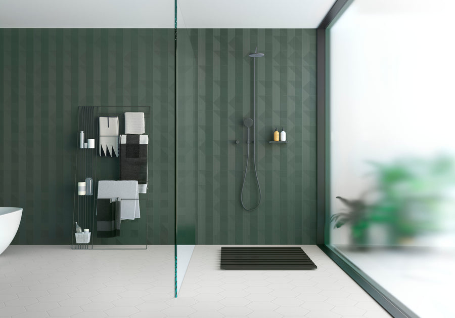 Luce di Ceramica | Teal | Ceramic Wall Tile