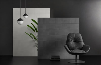 Luce di Ceramica | Grey | Ceramic Wall Tile | 8 x 8 - Mission Stone & Tile