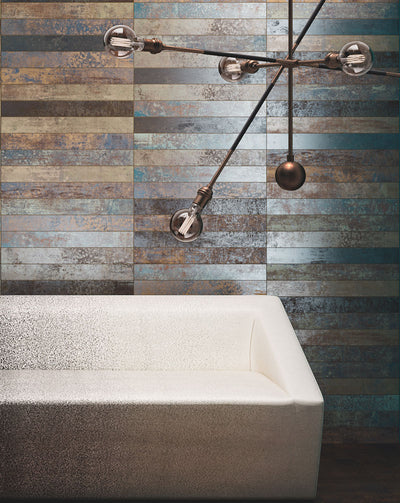 Ruggine | Nichel | Porcelain Tile | 3x24