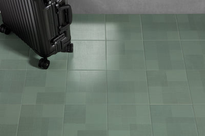 Giocare | Green | Porcelain Floor Tile | 8 x 8 - Mission Stone & Tile