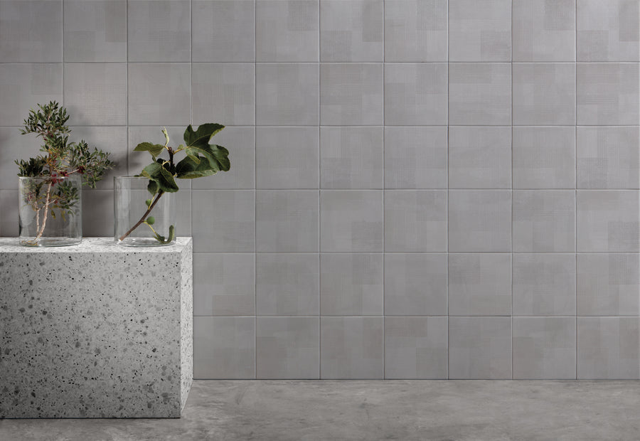 Giocare | Grey | Porcelain Floor Tile | 8 x 8 - Mission Stone & Tile