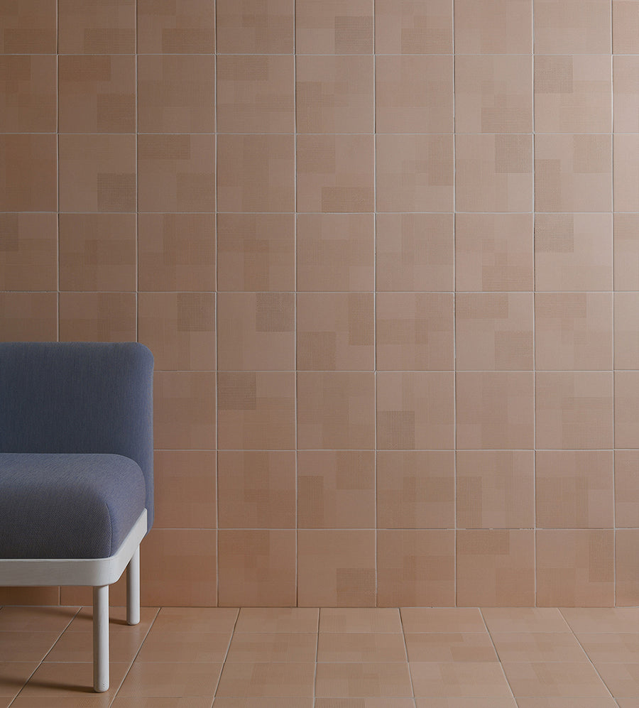 Giocare | Leather | Porcelain Floor Tile | 8 x 8 - Mission Stone & Tile