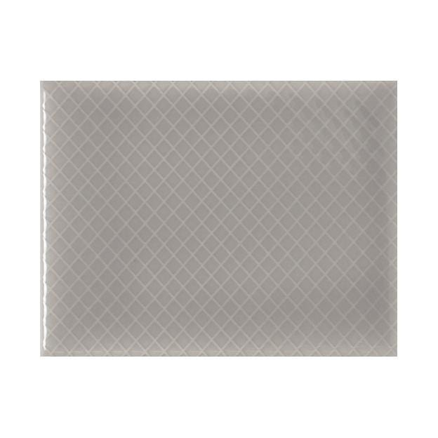 "Vento Grey | Diamond | The Essentials | Textured Subway Tile 4""x5"""