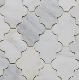 Fleurette | Oriental White Marble Polished - Mission Stone & Tile