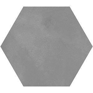 Mate Porcelain 8 inch Hexagon | Terra Fumo
