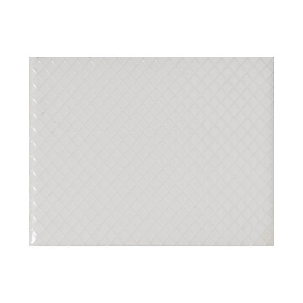 "Whisper White | Diamond | The Essentials | Textured Subway Tile 4""x5"""