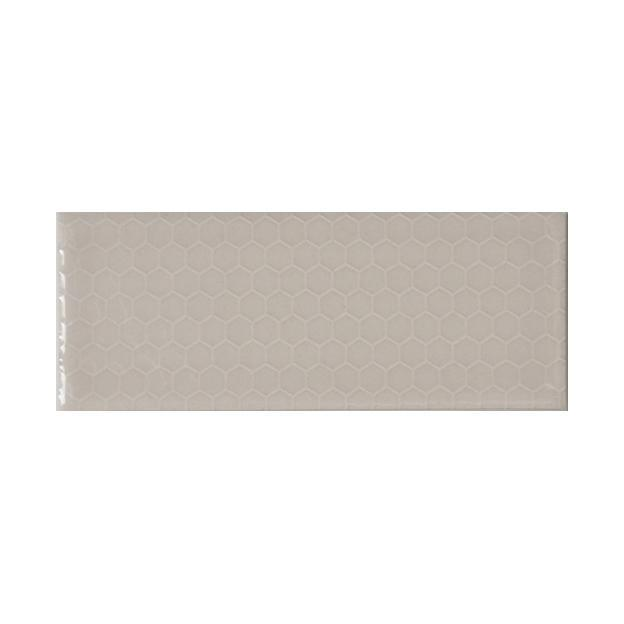 "Oyster Bay | Honeycomb | The Essentials | Textured Subway Tile 2""x5"""