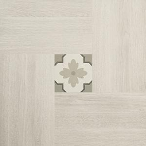 Inside 50 Porcelain Tile | Light Deco | 20x20 - Mission Stone & Tile