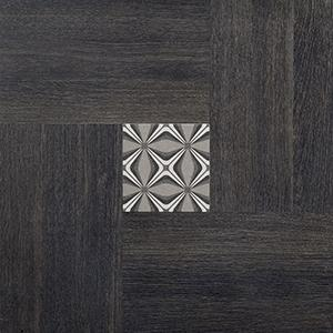 "Inside 50 Porcelain Tile | Dark Deco | 20""x20"""