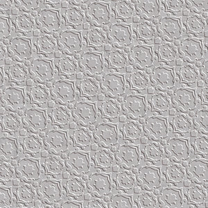 "Signs | Grey | Textured Porcelain Tile 6""x9"""