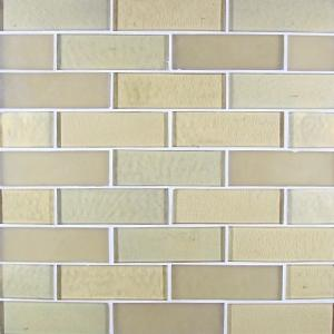 "Oro Blend | Glass Mosaic Tile 1""x4"""