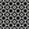Bonne Magie | Decorative Tile | White on Black 8x 8 - Sample - Mission Stone & Tile