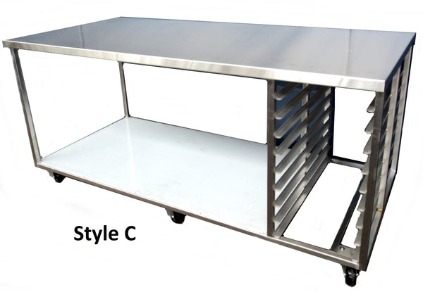 Stainless Steel Bench - Style C