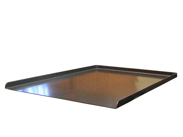 Black Steel Trays - 3 Sided