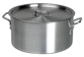 Heavy Duty Aluminium Sauce Pots – Including Lid